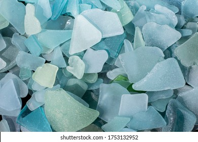 Sea Glass Mosaic, patterns made from Ocean glass, its a lifestyle background made with natural colours of blue, green, brown and white, hand made feeling like handcraft. Beach Glass, Ocean Glass
