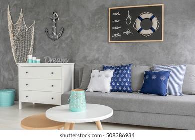 Sea Inspired Living Room