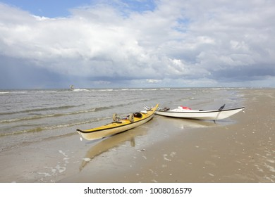 Sea kayak, Northsea. Ameland