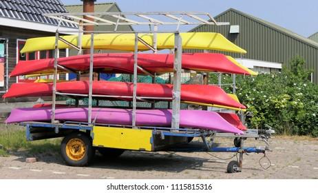Trailer For Kayaks