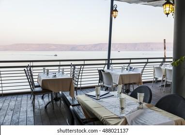 Sea (lake) of Galilee. Tiberias. Lower Galilee. Israel.