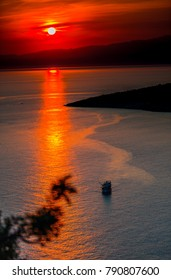 Sea landscape in Thassos island