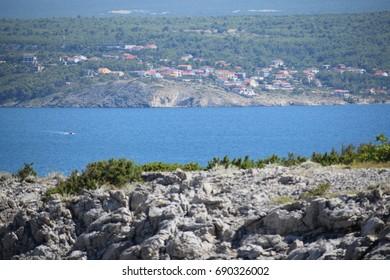 Sea landscape, Zadar region, Croatia