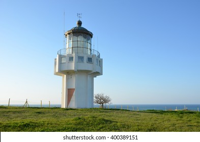 sea light house at black sea