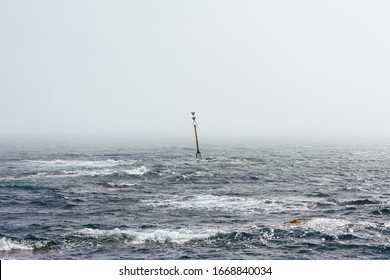 sea mark in a storm, symbol for hard times or crisis or an obstacle