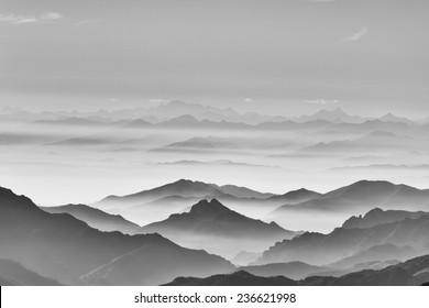 sea of the mountain