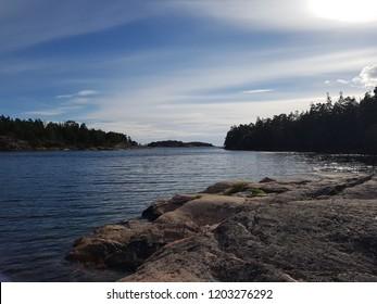 Sea Nature Sweden Watter Hill Summer