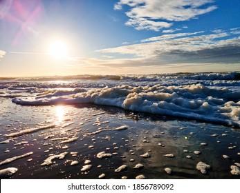 Sea ocean beach water sun sky