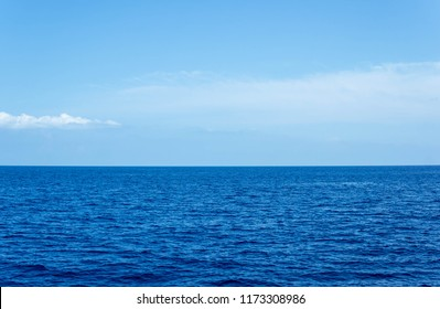 The sea ocean horizon