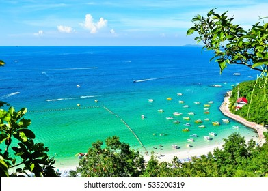 Sea on koh larn, thailand
