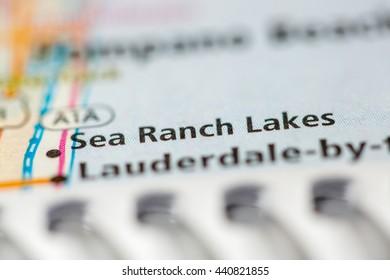 Sea Ranch Lakes. Florida. USA