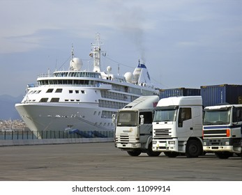 Sea and Road Transportation vehicles
