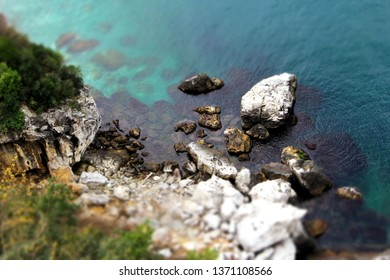 Sea And Rocks In Zonguldak