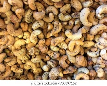 Sea Salt and pepper cashews