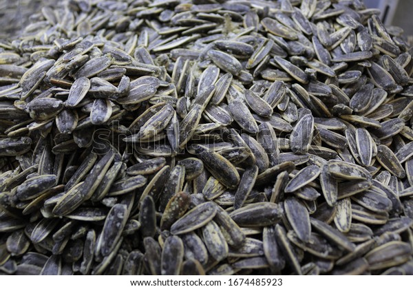A sea of salted sunflower seeds