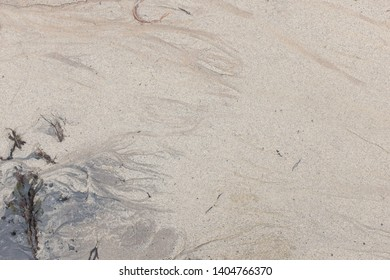 Sea sand and blue ink color patterns