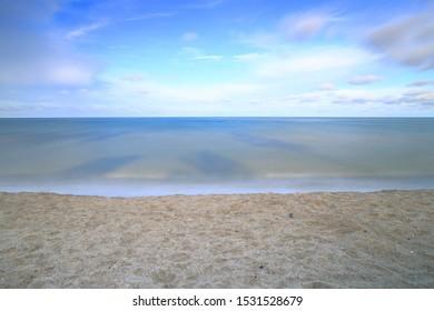 sea sand sky and beach