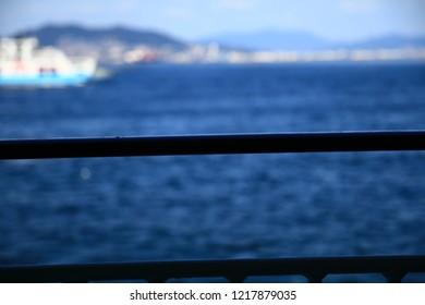 The sea scape from a ship