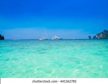 Sea Scene Vast Seascape