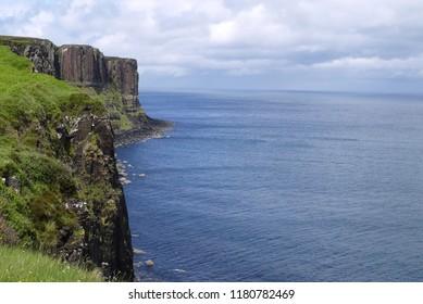 Sea, Scotland, sky, UK.