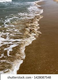 Sea Shore at a beach in Pondicherry -  Puducherry, Paradise beach, Beauftiful Clean Beach