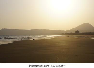 sea side  in Mukalla city, Hadramuth, Yemen