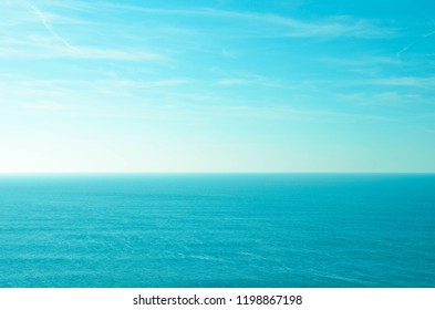 sea ​​background and sky