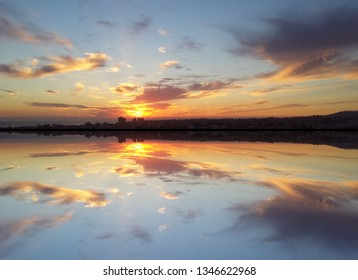 Sea and sky sunset
