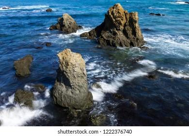 Sea Stacks Near Fort Bragg California