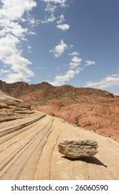 A sea of stone, Arizona, Southwest USA
