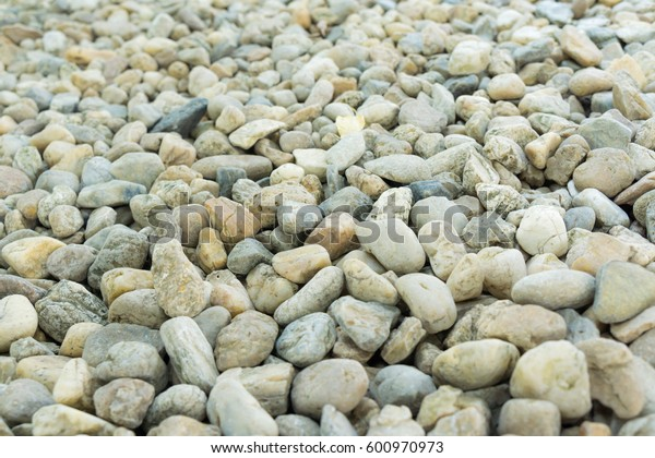 Sea stone texture background, Selective focus of rack