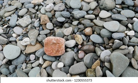 A sea of stones.