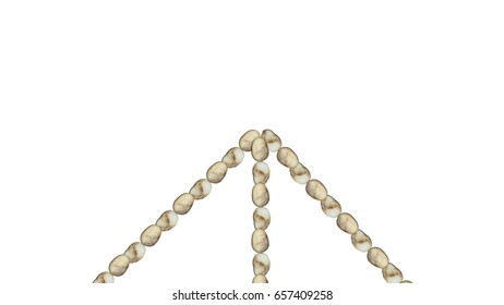 Sea stones Arrow symbol
