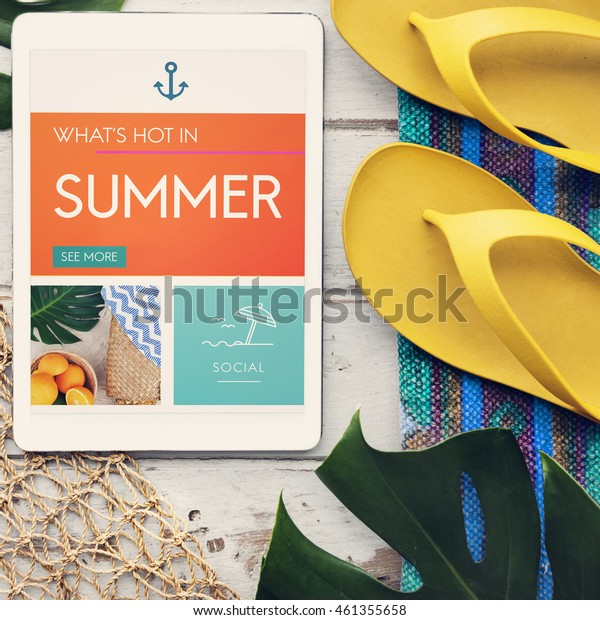 Sea Summer Holiday Vacation Traveling Trip Fresh Concept