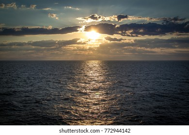 sea and summer sunrise