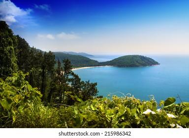 Sea and sun, Hai Van Pass, Danang, Vietnam