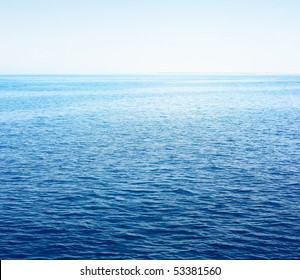 Sea surface with sky