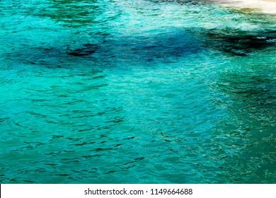 Sea texture watter