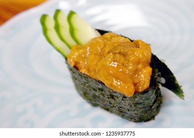 Sea urchin roll (Uni Gunkan Maki)