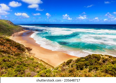 Sea view from Great Ocean Road in Australia