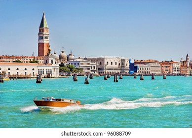 sea view Piazza San Marco with Campanile and Doge Palace