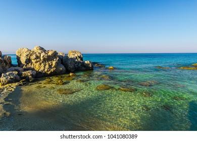 Sea view in Zakynthos island, greece