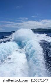 Sea water in Atlantic