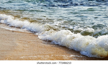 Sea water as background