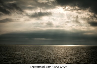 sea water clouds