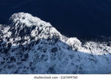 Sea watter surface photo shoot
