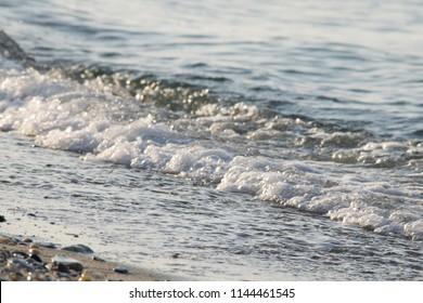 the sea waves