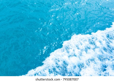 Sea waves background for copyspace
