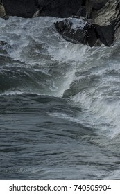 Sea waves at Hoi An, Vietnam
