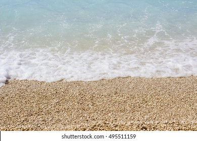 sea waves on the beach